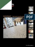 Flowcrete Pisos de Secado Rapido Para Industria en General