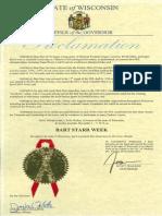 Bart Starr Week