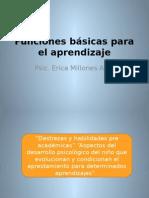 Funciones Básicas Para El Aprendizaje 2014 II