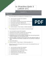 Practice Quiz 2 (2015-17)