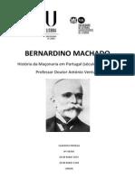 Bernardino Machado Vida Politica e a Mac