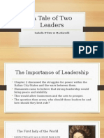 wchapter 4- a tale of two leadership styles