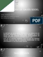 Método de Gauss-Seidel