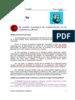 Modelos Económicos de Presidencias Perón