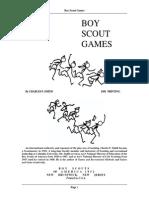 Boy scout Games