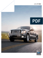 2012 Ford Raptor Brochure