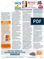 Pharmacy Daily for Wed 04 Nov 2015 - NSW pharmacist banned, PSA delisting advice, Stride out 4 stroke, Health AMPERSAND Beauty and much more