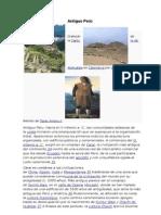 Antiguo Perú