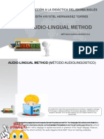 Audio-lingual method