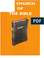 The Church of the Bible