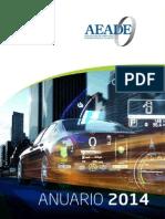 ANUARIO_2014 Aedesa Vehiculos Economia