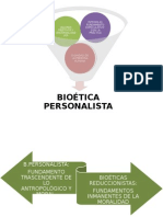 bioética personalista
