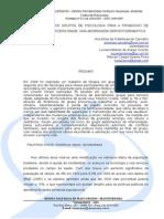A IMPORTÄNCIA DOS GRUPOS DE PSICOLOGIA PARA A PROMOCAO DE RESILIENCIA NA TERCEIRA IDADE