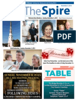 The Spire 11.3.15 News