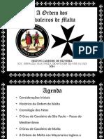Jornada Maconica Ordem Malta 2014