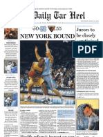 The Daily Tar Heel for March 24, 2010