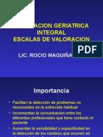 Valoracion Geriatrica Integral