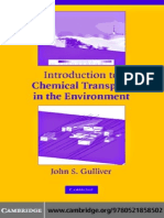 Gulliver J.S. Introduction to Chemical Transport in the Environment (CUP, 2007)(ISBN 052185850X)(295s) (1)