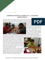 Campeonato Provincial de Ajedrez La Vila 2015 Ronda 4