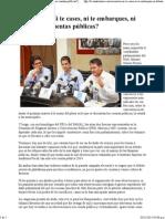 03-11-15 en Martes, No Te Creas, Ni Te Emarques, Ni Debatas Las Cuentas Públicas