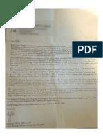 Hepatitis C letter from McKay Dee Hospital