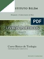 Livros Poeticos - Instituto Belém - Moisés Carneiro