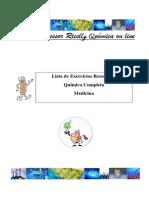Lista de Exercícios Química Completa Para Medicina