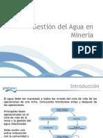 Gestión Del Agua en Minería