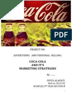 Marketing Startegies of Coca-Cola
