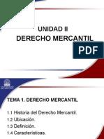 Unidad II Derecho Mercantil