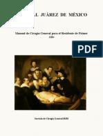 Manual de Cirugia General para el R1