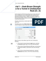 Tutorial 01 Undisturbed Tunnel