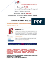 [Braindump2go] Latest 70-482 VCE Free Guarantee 100% Pass 31-40