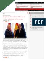 Recibe Ricardo Cabrisas Al Ministro de Economía de España _ Cubadebate
