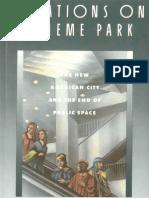 Sorkin m Ed Variations on a Theme Park