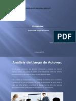 Analisis Del Juego de Actores.