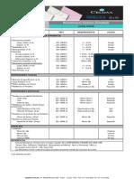 p1 - Hojas Tecnicas Celima Pared Lineal Hueso 25x40 - Setiembre
