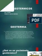 POZOS GEOTERMICOS