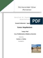 Estructuras Prefabricadas de Concreto