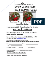 Troop 24 Wreath Sales 2015