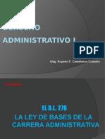 Clase 8 - Decreto Ley 276 Ley de Base de Carrera Administrativa