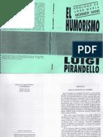 Prólogo a El humorismo-Pirandello