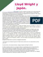 Frank Lloyd Wright y El Sismo de Japón