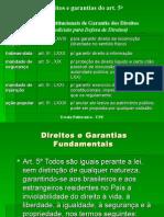 Garantias Fundamentais Art 5
