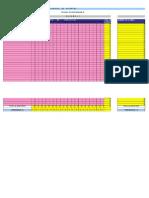 Tabla de Concentrado Examen Diagnostico Inicial Teles 253h