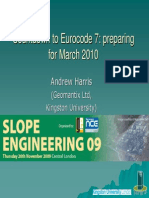 Andrew Harris - Countdown to Eurocode 7 Preparing