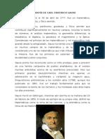 Biografía de Carl Friedrich Gaus1