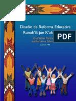 diseno de la reforma educativa