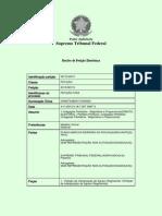 Agravo Regimental REITERADO - Ação Popular - Coligações Partidárias Ilegais