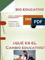 Cambio Educativo